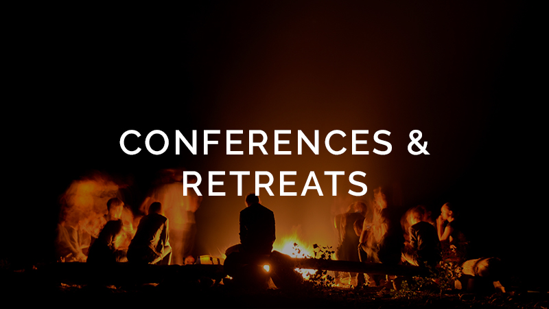 Conferences Retreats